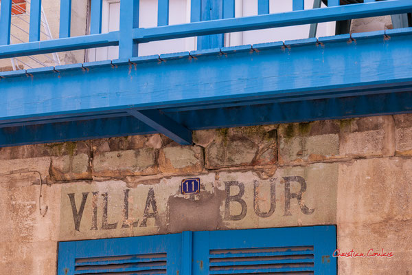 Villa Tibur, Soulac-sur-Mer. Samedi 3 juillet 2021. Photographie © Christian Coulais