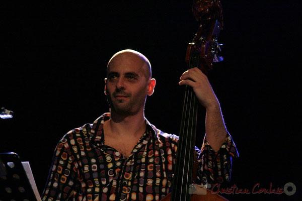 Mauro Gargano; Roger Biwandu Quintet, Festival JAZZ360, Cénac 03/06/2011