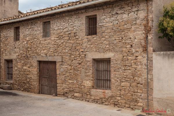 Façade de bâtiment agricole / Fachada de edificio agrícola. Liédena, Navarra