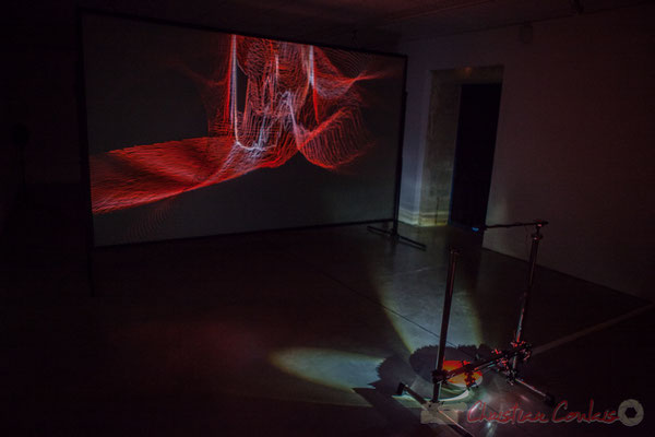 5 Frack. Sandra et Gaspard Bébié-Valérian, en coopération avec Thierry Guibert. Octobre numérique, Espace van Gogh, Arles