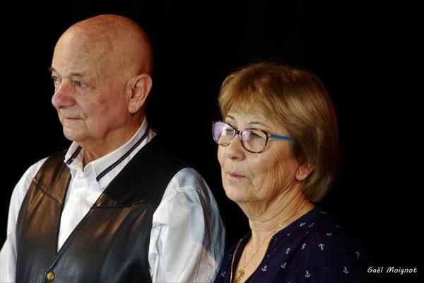 Daniel Branche et Maryse Pinol photographiés par Gaël Moignot. Cénac, samedi 2 février 2019