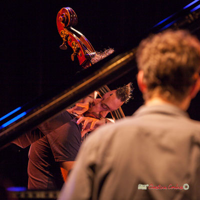 Simon Tailleu; Medium Ensemble 3 de Pierre de Bethmann. Festival JAZZ360 2019, Cénac. 07/06/2019