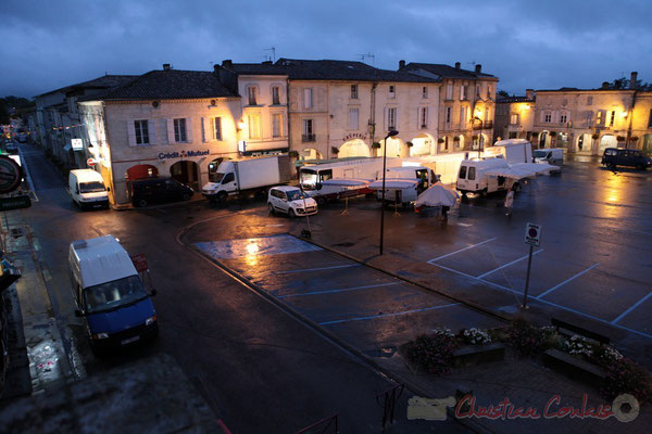 7h00, Marché de Créon, Gironde