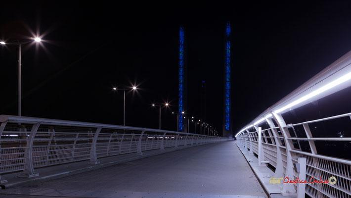 #1 Piste cyclable & piétonne. Pont Jacques Chaban-Delmas, Bordeaux. Mercredi 27 février 2019