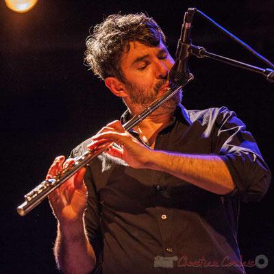 Joce Meinniel, Sylvain Rifflet Quartet, Festival JAZZ360 2016, Cénac, 10/06/2016