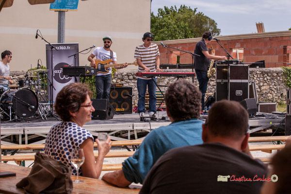 """A """"Entre-Deux-Mers, entre deux verres"""" The Protolites, Festival JAZZ360 2019, Quinsac. 09/06/2019"""