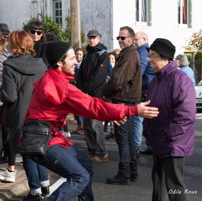 Compagnie la Hurlante photographiée par Odile Roux. Mérignac, le 24 novembre 2018