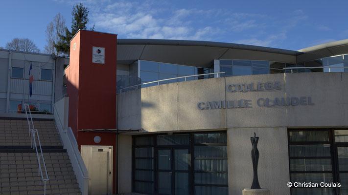 Accès P.M.R. du Collège Camille Claudel, Latresne, Conseil départemental de la Gironde