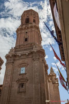 Plaza Vieja, Catedral Santa Maria la Blanca, Tudela, Navarra