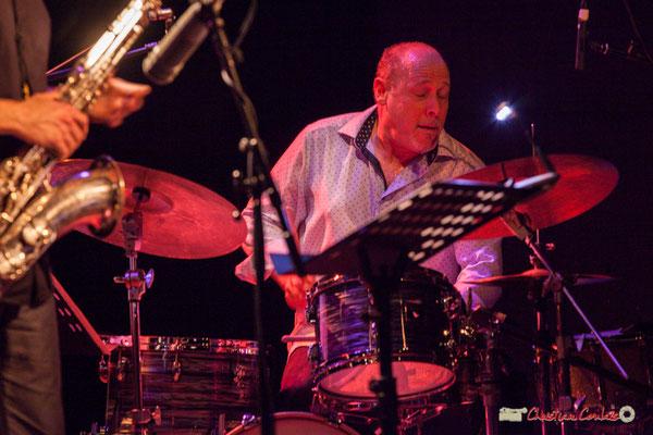 Jeff Ballard; Vincent Bourgeyx Quartet. Festival JAZZ360 2018, Cénac. 09/06/2018