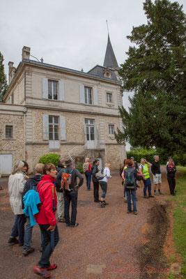 Château Courtade-Dubuc, Camblanes-et-Meynac. Randonnée pédestre Jazz360 2016, de Cénac à Quinsac, 12/06/2016