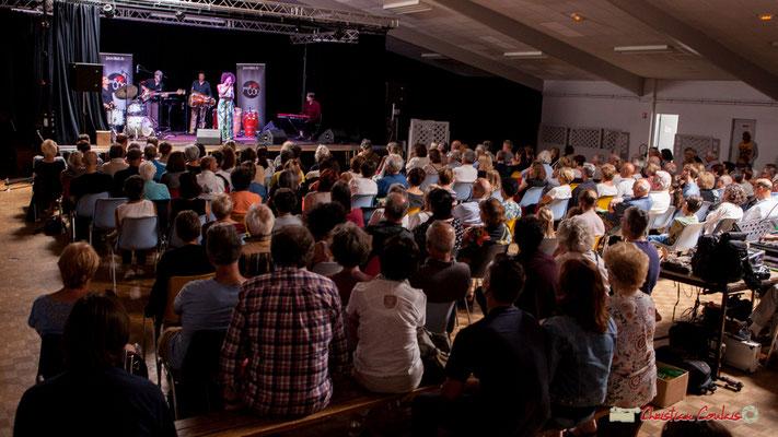 """""""L'année prochaine, ajouter des chaises, c'est complet !"""" Mayomi Moreno Project, Festival JAZZ360 2018, Latresne. 10/06/2018"""