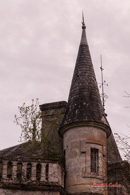 2/8 Château Haut-Brignon, Cénac. Mardi 7 avril 2020. Photographie : Christian Coulais