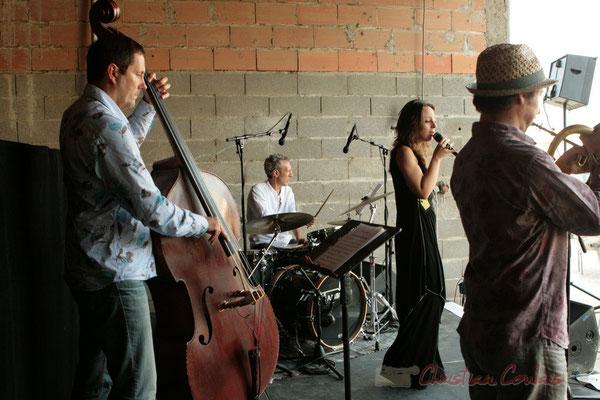 Olivier Gatto, Iano Anzelmo, Iano Anzelmo, Florinda Piticchio, Yann Loustalot; Florinda Piticchio & Balarm Quartet, Festival JAZZ360 2011, Cénac. 05/06/2011