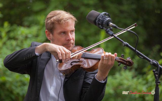 Nicolas Frossard; Nicolas Saez Quartet. Festival JAZZ360, Château Duplessy, Cénac. 10/06/2019