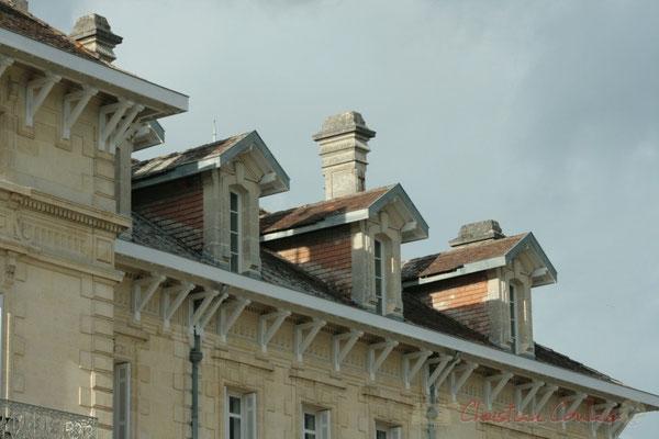Détail de la façade, Château Léon, Carignan-de-Bordeaux