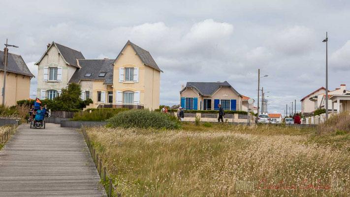 Habitat traditionnel, la Parée Basse, Corniche Vendéenne, Vendée, Pays de Loire