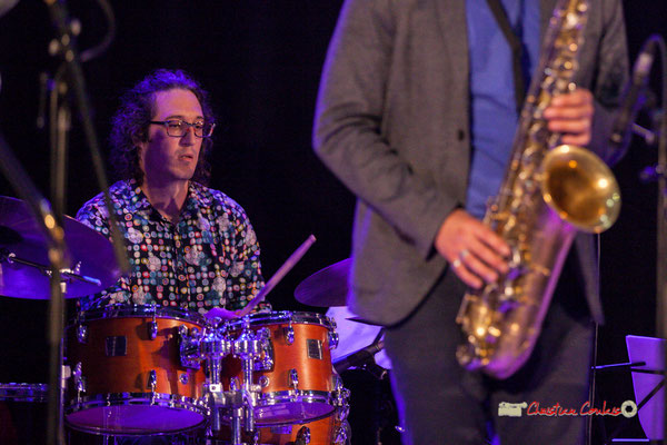 David Muris; Docteur Nietzsche fait son grand huit, Festival JAZZ360 2019, Saint-Caprais-de-Bordeaux. 05/06/2019