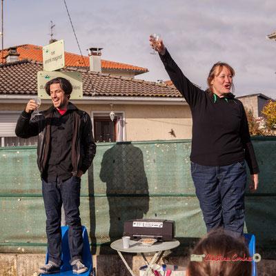 Collin Hill; Caroline Cano. Regards en biais, Cie La Hurlante, Hors Jeu / En Jeu, Mérignac. Samedi 24 novembre 2018