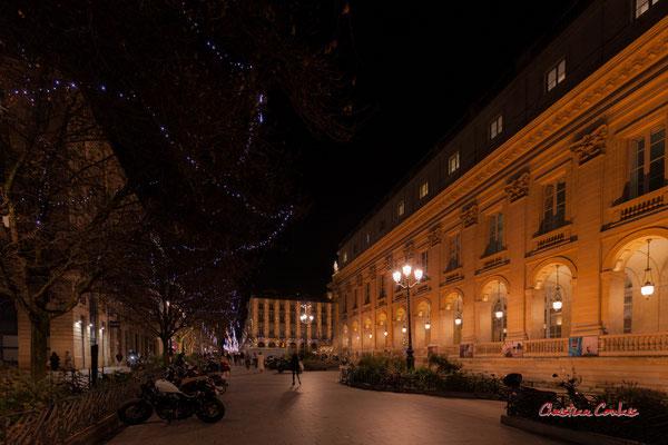 """""""Le temps d'un soir"""" Grand-théâtre de Bordeaux. Mercredi 16 décembre 2020. Photographie © Christian Coulais"""