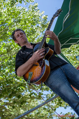 Cyril Amourette; Soul Jazz Rebels. Festival JAZZ360, 10 juin 2017, Camblanes-et-Meynac