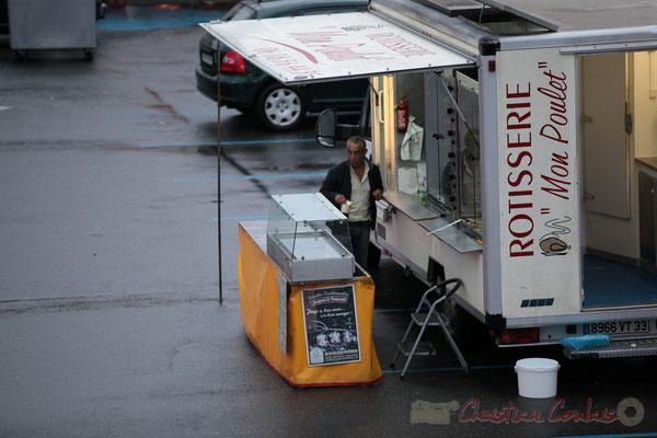 Rotisserie, Marché de Créon, Gironde