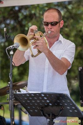 Jérôme Dubois, Quintet On Lee Way, Festival JAZZ360, Quinsac, 11/06/2017