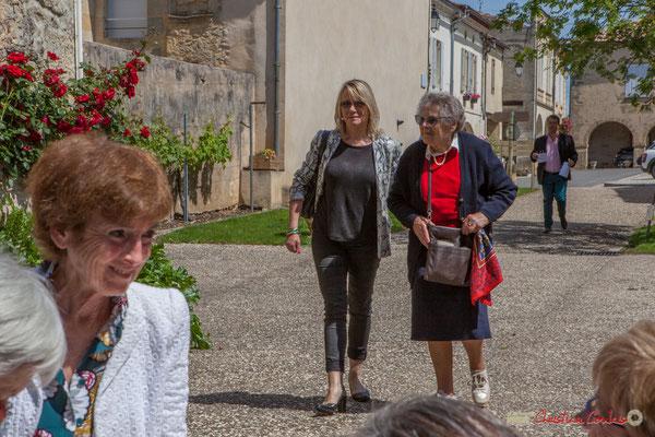 Tous avec Martine...Faure et Jean-Marie Darmian pour fêter 10 ans de députation et un jubilé d'engagements politiques. 14 mai 2017, Blasimon