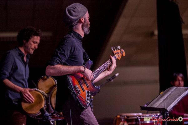 Lionel Galletti, Thomas Labadens; Mayomi Moreno Project. Festival JAZZ360 2018, Latresne. 10/06/2018