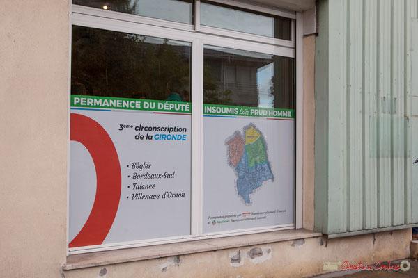 Permanence parlementaire de Loïc Prud'Homme et Tiphaine Maurin, 281, route de Toulouse, Villenanve d'Ornon