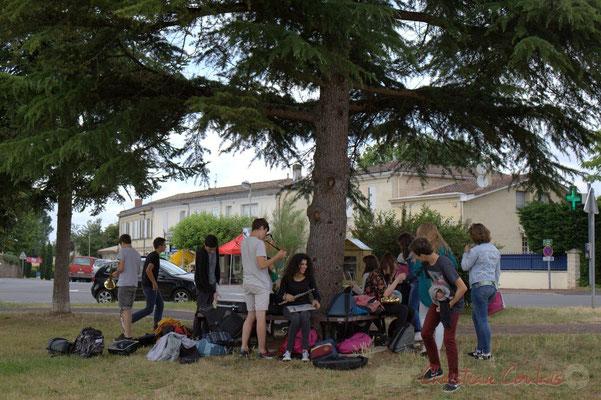 Big Band du Collège de Monségur. Festival JAZZ360, Cénac, 12/06/2015