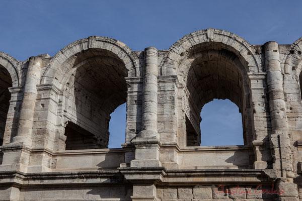 2 Détail, arènes d'Arles