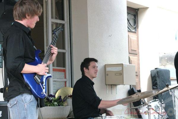 Mathias Monseigne, Hugo Raducanu. Ateliers Jazz des Conservatoire d'Agen, Bordeaux, Mont-de-Marsan. Festival JAZZ360 2010, Cénac. 16/05/2010