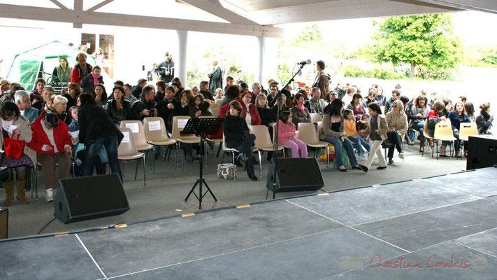 Festival JAZZ360 2010. Parents, frères et sœurs seront tous là. Groupe scolaire de Cénac, mercredi 12 mai 2010