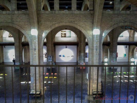 Michael Krebber, Planches de surf 2003. Nef du CAPC Bordeaux, Centre d'Arts Plastiques Contemporains (2 janvier 2013)