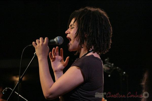 Chanteuse, Big Band du Conservatoire Jacques Thibaud, section MMA. Festival JAZZ360, Cénac. 03/06/2011