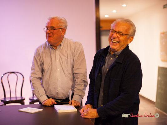 """Première séance de dédicace du livre """"Le partage du pouvoir locale"""" par Jean-Marie Darmian, au BREC de Créon. 22/10/2019"""