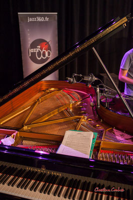Piano Steinway & sons B2 demi-queue. Festival JAZZ360, Cénac. Samedi 5 juin 2021. Photographie © Christian Coulais