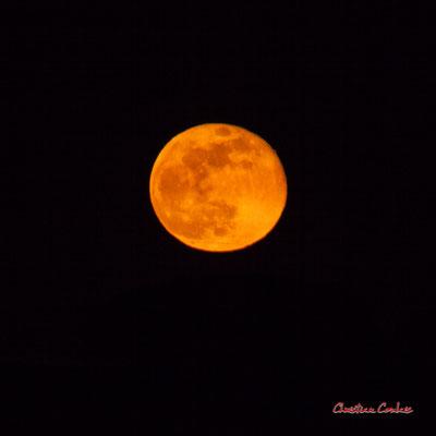 Super lune. Mercredi 8 avril 2020, 21h34mn19s. Cénac, Gironde, France.