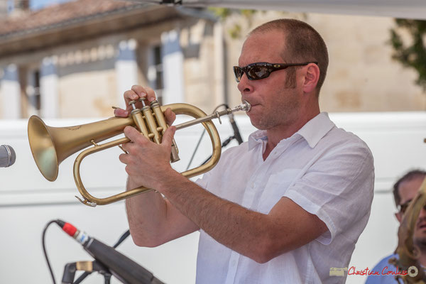 Jérôme Dubois, Quintet On Lee Way, Festival JAZZ360, Quinsac, 11/06/2017