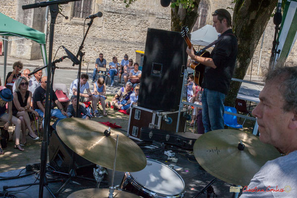 Cyril Amourette, Christian Ton Ton Salut; Soul Jazz Rebels. Festival JAZZ360, 10 juin 2017, Camblanes-et-Meynac