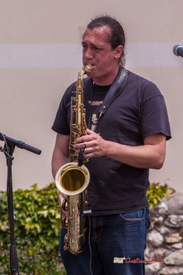 Vincent Lefort; The Protolites. Festival JAZZ360 2019, Quinsac. 09/06/2019