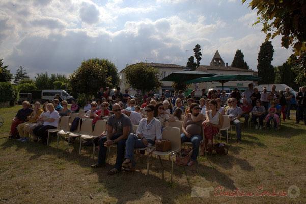 Ouverture du Festival JAZZ360 2015, place du bourg de Cénac, 12/06/2016