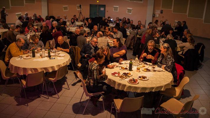 Soirée Cabaret JAZZ360, Salle culturelle de Cénac, Gironde. En présence d'Irène et Alain Piarou, Philippe Desmond d'Action Jazz, 05/11/2016