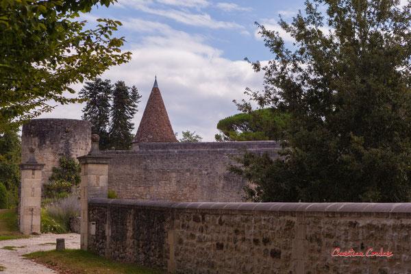 """""""Château d'Arpaillan"""" De Frontenac à Espiet; 11km. Ouvre la voix, samedi 4 septembre 2021. Photographie © Christian Coulais"""
