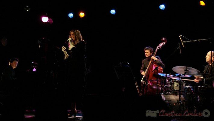 Serge Moulinier, Lo Jay, Christophe Jodet, Pascal Legrand; Lo Jay et Serge Moulinier Trio. Festival JAZZ360 2010, Cénac. 12/05/2010