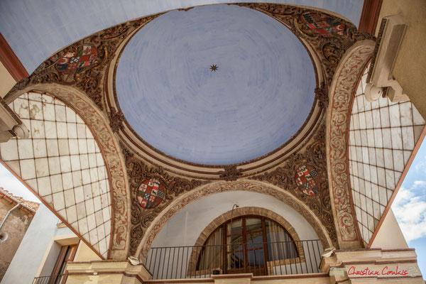Hôtel de ville depuis 1490, construit sur les dénommées Casa del Almundi (Halle aux blés) / Ayuntamiento desde 1490, construido sobre la denominada Casa del Almundi, Tudela, Navarra