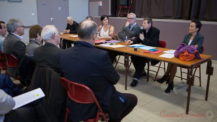 Gérard Poisbelaud, Anne-Laure Fabre-Nadler, Jean-Marie Darmian, Thierry Suquet, Secrétaire général de la Préfecture de la Gironde, Mathilde Feld