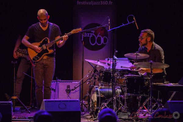 Philippe Gordiani, Nicolas Larmignat, Sylvain Rifflet Quartet, Festival JAZZ360 2016, Cénac