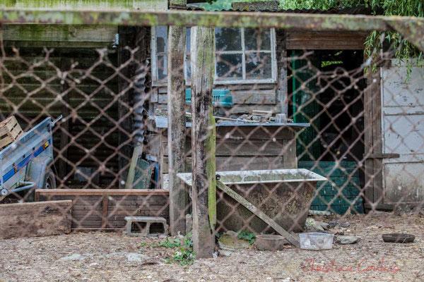 L'autre vie d'une baignoire...dans son nouveau milieu. Pays de Saint-Gilles-Croix-de-Vie, Vendée, Pays de la Loire